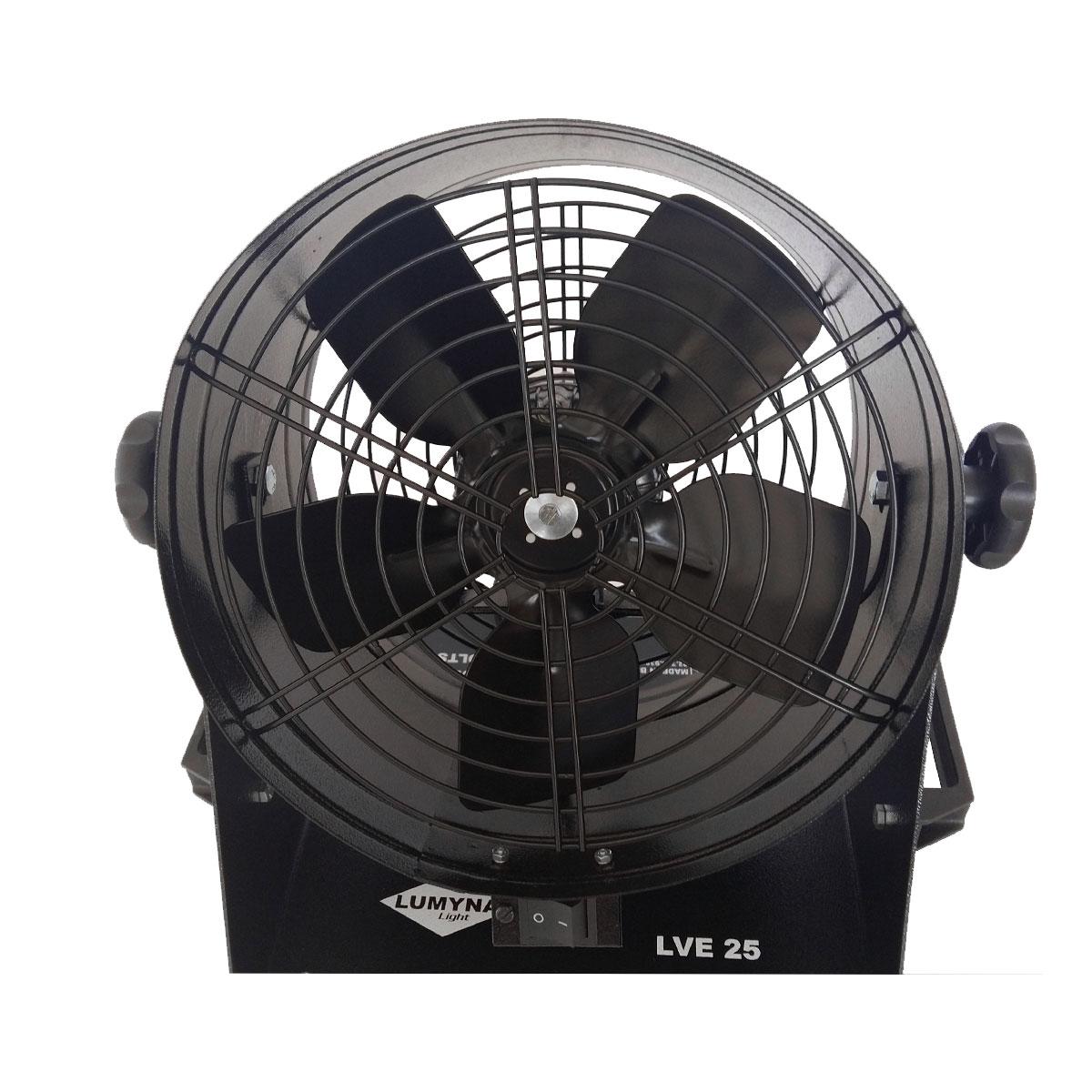 Ventilador para Dispersar Fumaça LVE25 220V - Lumyna Light
