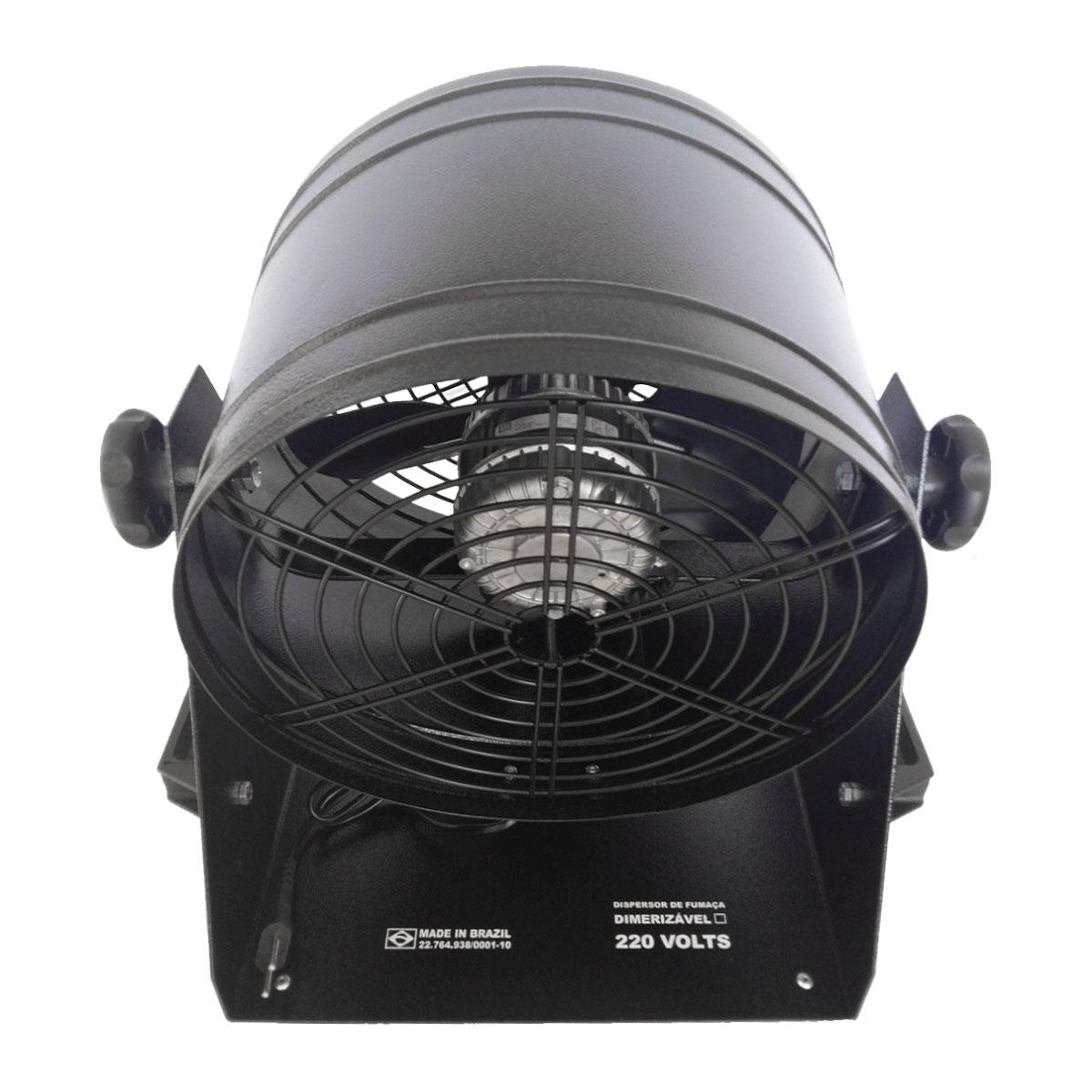 Ventilador para Dispersar Fumaça Dimmerizável LVE25+DI 220V - Lumyna Light