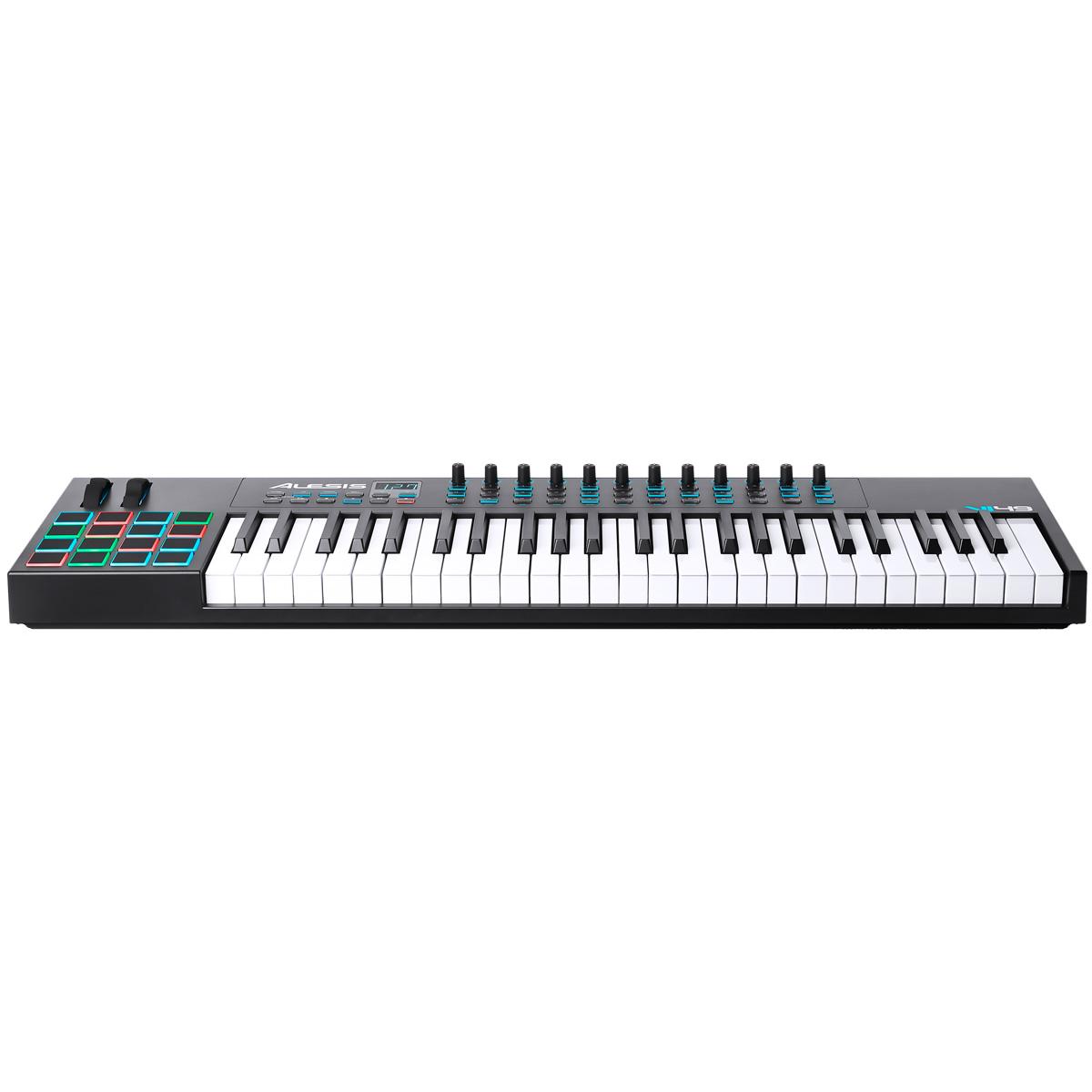 Teclado Controlador MIDI 49 Teclas c/ USB - VI 49 Alesis