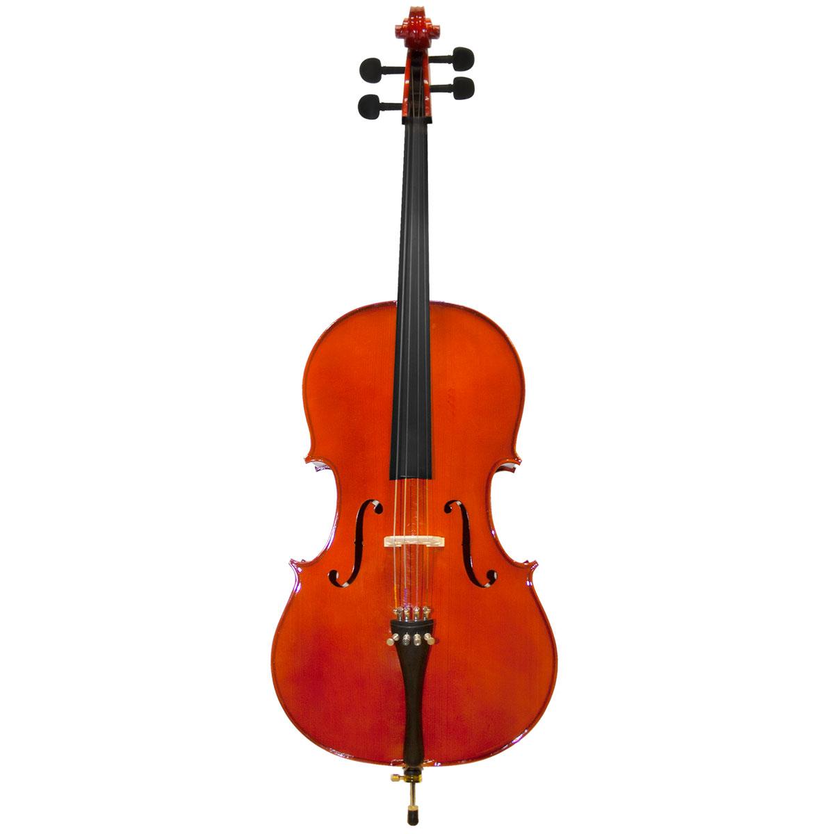 Violoncelo Tradicional 3 / 4 VOM30 3 / 4 Verniz Translúcido Avermelhado - Michael