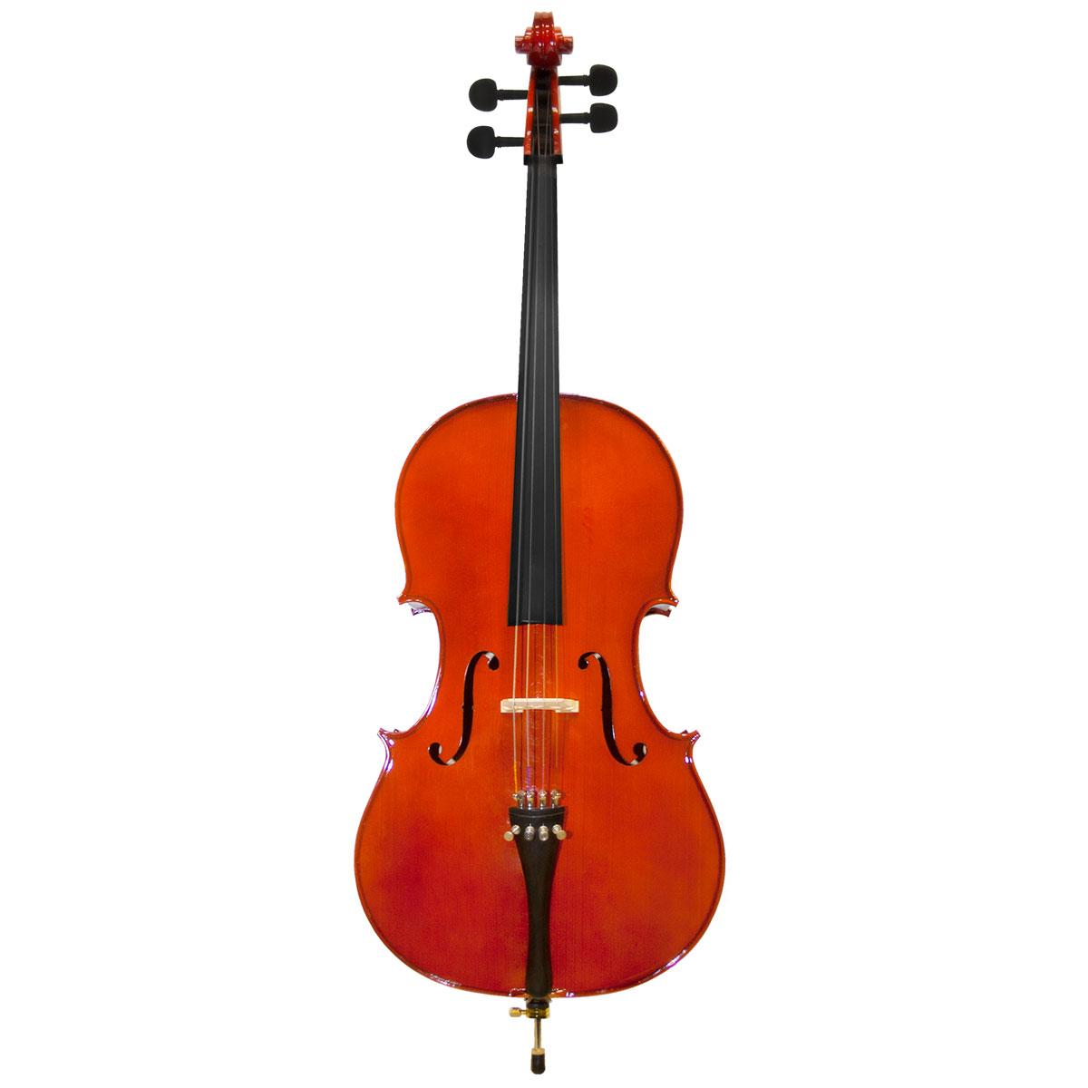Violoncelo Tradicional 4 / 4 VOM40 4 / 4 Verniz Translúcido Avermelhado - Michael