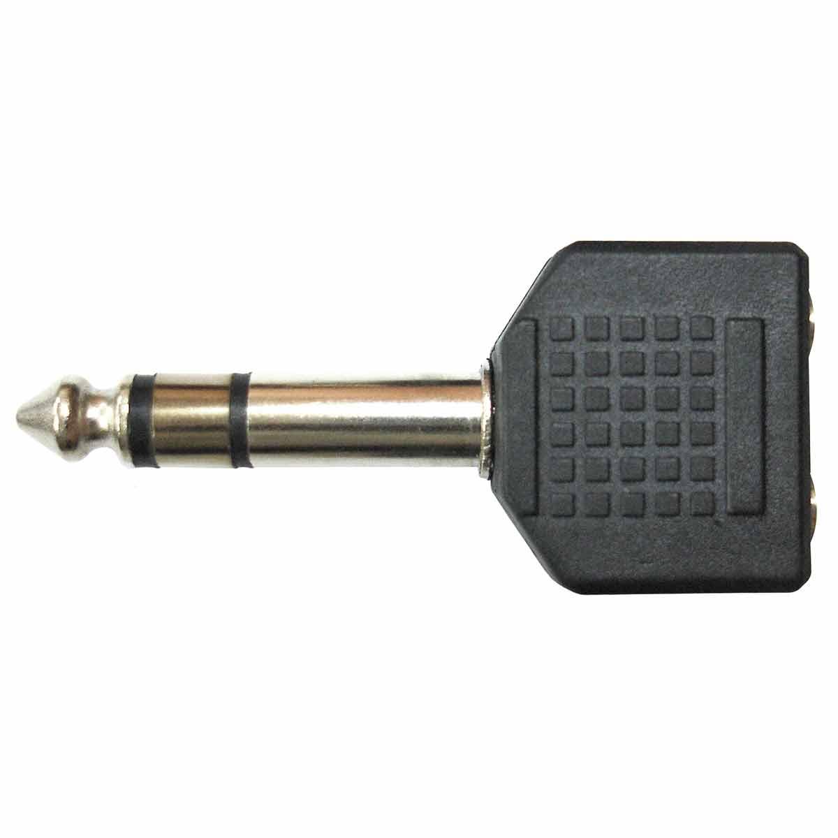 Adaptador 2x P2 F / P10 M WC 2038 AD - Wireconex