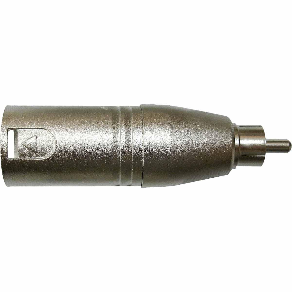WC243AD - Adaptador XLR M / RCA M WC 243 AD - Wireconex