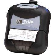 Impressora Port�til de Cupom RW 420 (Bluetooth - Carregador de Bateria) - Zebra
