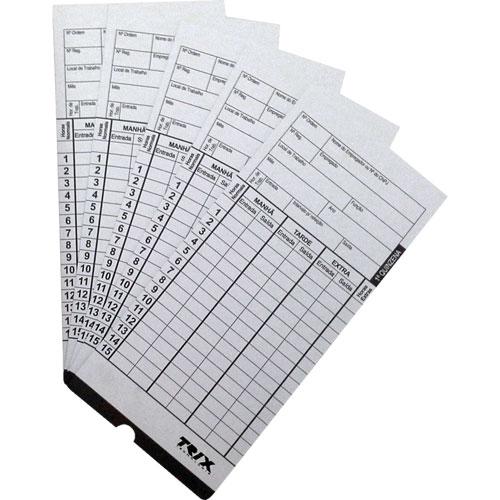 Cartão de Ponto (100 Cartões) - Trix Tecnologia