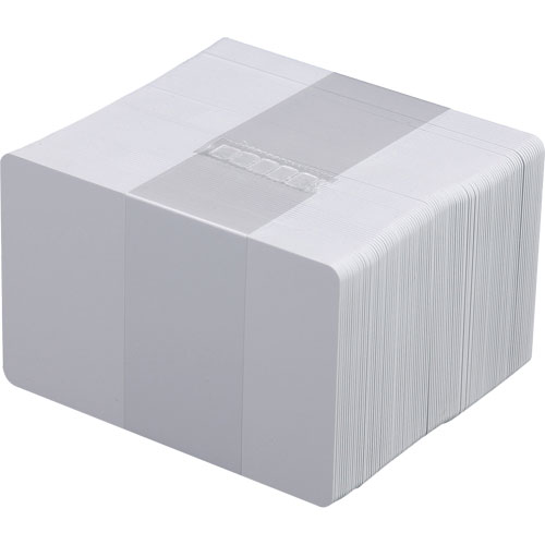 Cartão PVC Branco de 30 mil (5 Pacotes com 100 Cartões) - Zebra