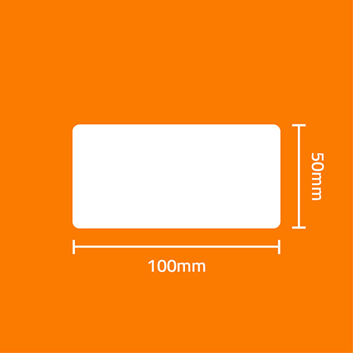 Etiqueta Adesiva BOPP Fosco Branca 100 x 150 x 01 (Grande Porte) - ID Etiquetas