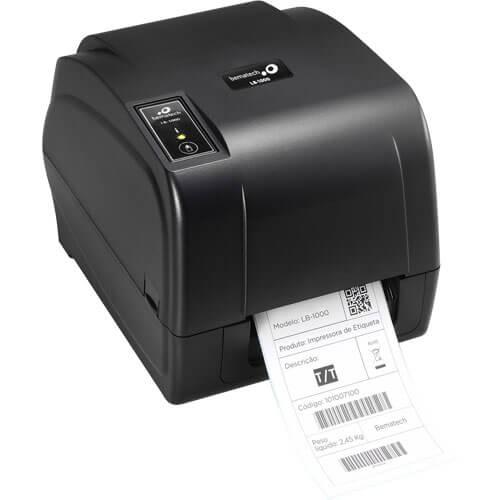 Impressora de Etiquetas Térmica LB-1000 203 dpi - Bematech + Cabo de Comunicação USB