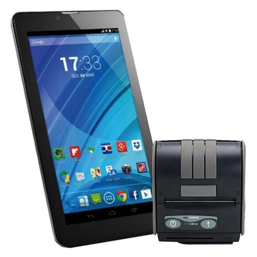 Kit Automação Tablet (Multilaser) + Impressora Portátil (Datecs)