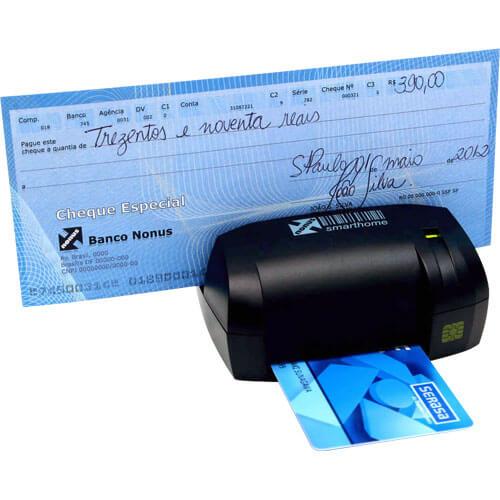 Leitor de Boletos, Cheques e Smart Card Smarthome 10 - Nonus