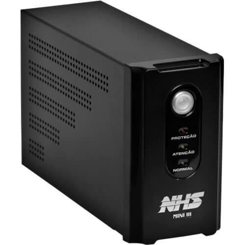 Nobreak Interactive Mini III 600 (600VA - 01 Bateria Selada 7Ah - Entrada Bivolt e Sa�da 120V) - NHS