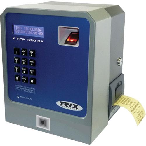 Relógio de Ponto Eletrônico X REP-520 BP - Trix Tecnologia