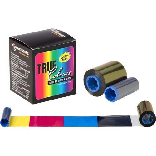 Ribbon Colorido 5 Painéis YMCKO com Cilindro de Limpeza Descartável - 200 Imagens (P1x0i) - Zebra