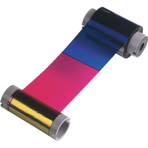 Ribbon Colorido 5 Pain�is YMCKO com Cilindro de Limpeza Descart�vel - 200 Imagens (P1x0i) - Zebra