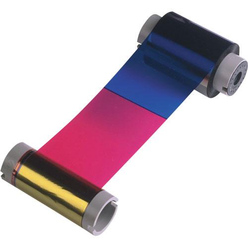 Ribbon Colorido 6 Painéis YMCKOK com Cilindro de Limpeza Descartável - 165 Imagens (P120i) - Zebra