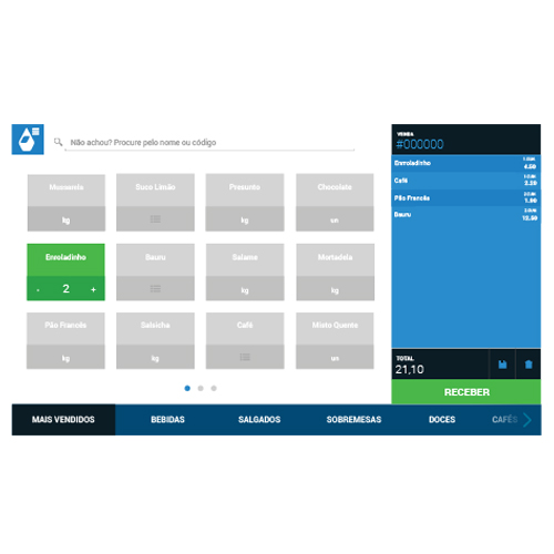 Solução para Frente de Caixa Pingobox (Sistema + Módulo Fiscal)
