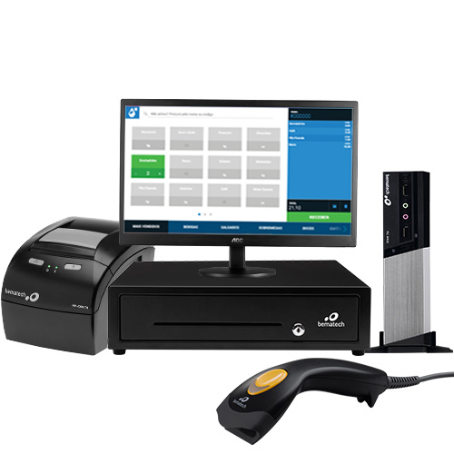 Solução para Frente de Caixa Pingobox (Sistema + Módulo Fiscal + Setup)