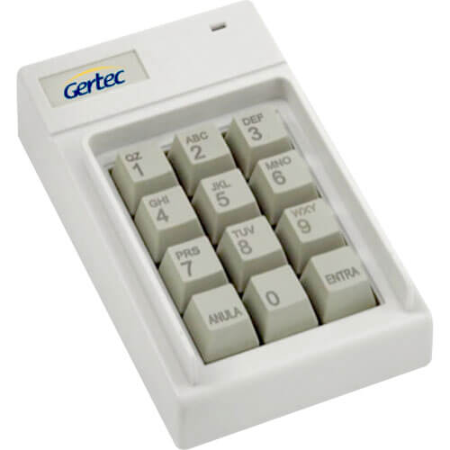 Teclado N�o Program�vel Pin Pad Fone Serial - Gertec