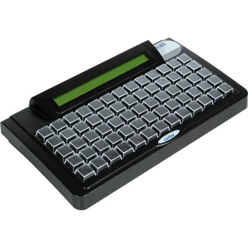Teclado Programável TEC-E 65 com Display Preto - Gertec