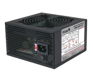 Fonte Real 500w atx Wisecase 24P Fan 12cm + Cabo Inmetro