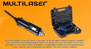 Parafusadeira de Impacto Elétrica 12V MultiLaser - AU603