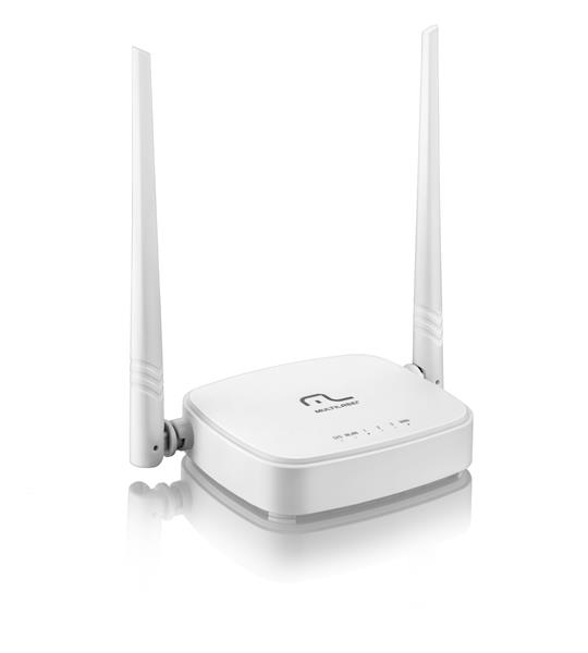 Roteador Wireless MultiLaser 300Mbps RE160 - 2 Antenas Fixas 5Dbi