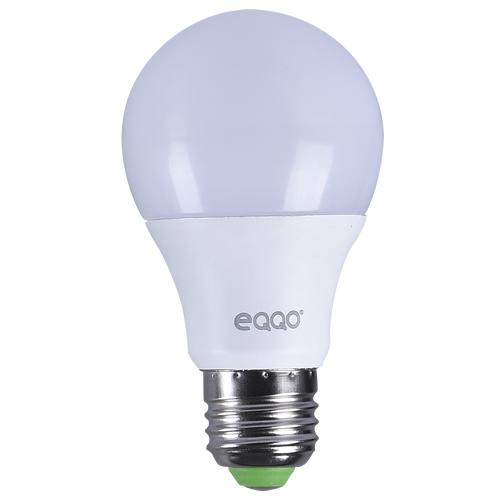 Kit 10 Lâmpadas Super LED 7w Bulbo E27 Bi-Volt Branca Eqqo (550 Lumens)