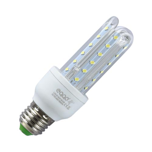 Lâmpada Super LED 12W 3u E27 Bi-Volt EQQO 6500k Branco (960 Lumens)