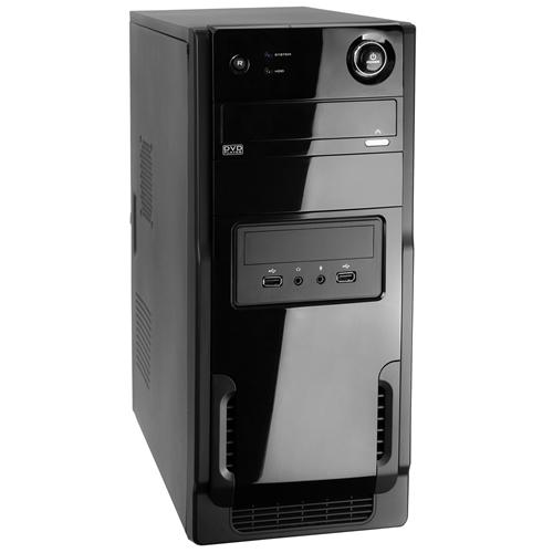 Gabinete WiseCase Atx FT-403/RJAC-3308 C/Fonte 500w Nominal (Black Piano)