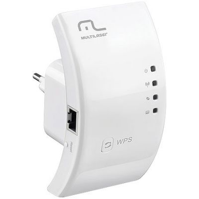Repetidor Wireless MultiLaser 300Mbps 2.4Ghz RE051