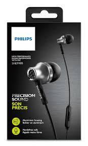 Fone De Ouvido Philips She9105 Intra-Auricular (Prata)