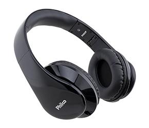 Fone de Ouvido Philco PH02P Preto C/Microfone e Plug TRRS de 3,5 mm