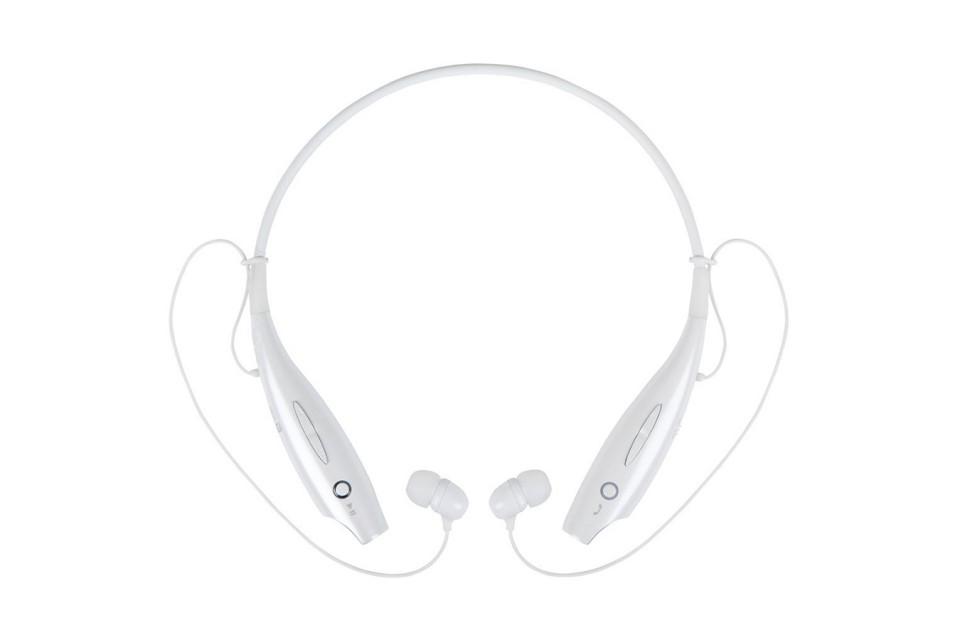 Fone de Ouvido Bluetooth HBS 730 Sport HardLine (Branco)