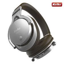 Fone De Ouvido Sem Fio Bluetooth Kolke-102 Liberty (Prata/Marron)