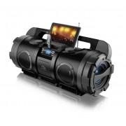 Som Portatil MultiLaser SP163 Bazuca 80w Rms, C/FM, Usb, Sd, Aux, Bivolt