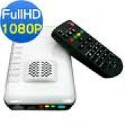 Media Player Full HD Zinwell ZP-520 1080p (Encaixe para HD 2,5´ - Preto)