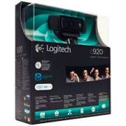 Webcam Logitech HD C920 PRO FullHD 1080p, Foto 15MP.