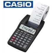 Calculadora Casio HR-8TM Compacta S/Fonte 12 Digitos - Preto