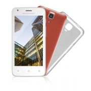 SmartPhone Multilaser MS45 Colors Branco - 2 Chips, Tela 4.5´IPS, Android 4.4, Q.Core 1.2GHz, Câm 3MP+5MP, Wi - Fi, 3G, Mem 8Gb.