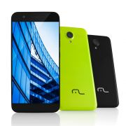 "SmartPhone MultiLaser MS50 4G Preto NB236, Tela 5.0"", 1Gb Ram, Quad Core, Câmera 8MP+5MP, Mem 8Gb."