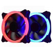Cooler Pc Gamer AF-Q1225 K-Mex C/Anel de Led (Azul)