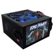 Fonte Atx 650w Real Epic Power 24P Fan 12cm + Cabo (Caixa Individual)