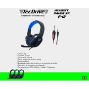Headset Gamer XP F-12 X-CELL (Compatível PS4)