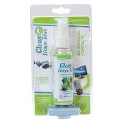 Kit 5 Clean Limpa Telas Spray 60ml C/ Flanela Anti-risco Implastec