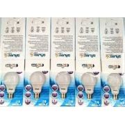Kit 10 Lampadas Led 11w Bulbo E27 BiVolt Galaxy Led Amarela 1018LM - Inmetro