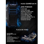 Micro Pc Gamer Br One - Amd Phenom, 8gb, Hd 2Tb Sata, Win10 Pro.