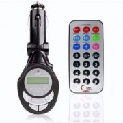 Transmissor FM Wireless Sem Fio Veicular Carro Mp3