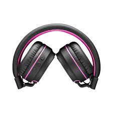 Fone De Ouvido Multilaser Pulse Bluetooth Ph216 Preto/Rosa