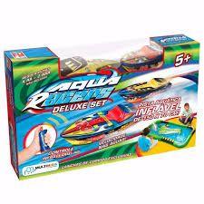 Aqua Racer Deluxe C/ Pista Inflável BR208 Multikids