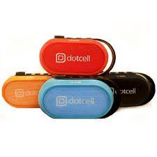 Caixa de Som Mini Speaker Bluetooth DotCell Dc-s055 - Laranja